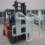 Holder til hydraulisk gaffeltrucks vedhæftede filer