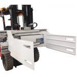 Økonomisk gaffeltruck Revoling Bale Clamp Produktion