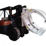 Klasse 2 gaffeltruck vedhæftet roterende papirrulleklemme
